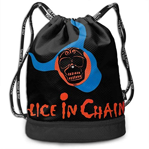 Mochila con cordón Men and Women General Travel Backpack Alice In Chains Versatile Unique Design Backpack Bag