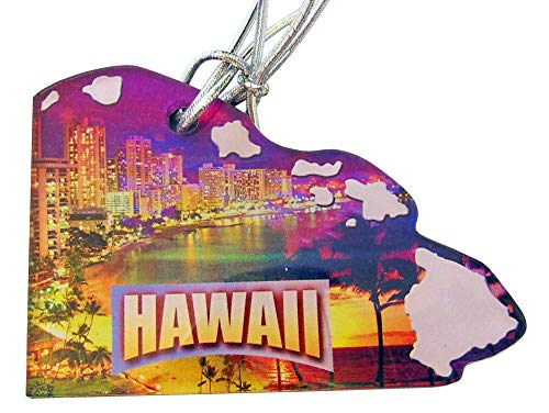 Westman Works Hawaii Christmas Ornament Acrylic State Shaped Decoration Boxed Gift Made in The USA