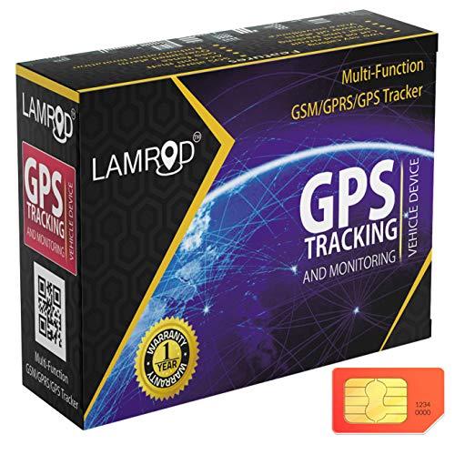 LAMROD Supreme Google Link GT02A GPS Tracker