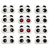 12 Pack Sleep Masks Panda Blindfold Eyepatch Eyeshade with Elastic Strap Nap Cover