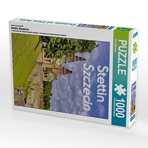 CALVENDO Puzzle Stettin Szczecin 1000 Teile Lege-Größe 48 x 64 cm Foto-Puzzle Bild von Paul Michalzik