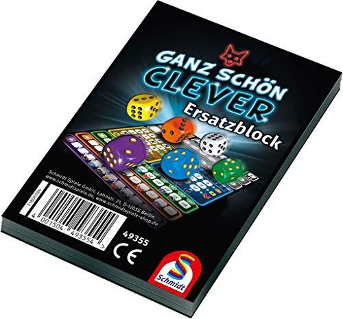 Schmidt Spiele Ganz schön clever! Einzelblock Würfelspiel