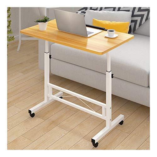 GUOQING Schreibtisch Mobiler Pflegetisch Notebook Tisch Workstation Für Schlafzimmer, Wohnzimmer, Sofa Multifunktional Und Praktisch Laptopständer Pflegetisch (Color : Walnut)