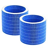 2 Pack Humidifier Wicking Filter Replacement Filters for EV03-VEARMOAD Evaporative Humidifier (Blue)