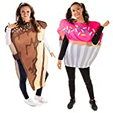 Cake & Cupcake Couples Halloween Costume - Cute Adult Junk Food Outfits