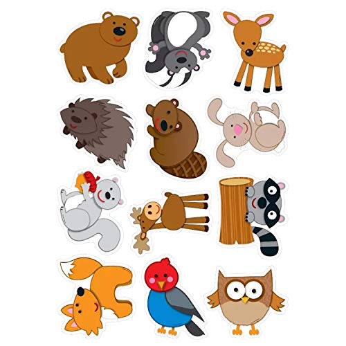 Carson Dellosa Woodland Animals Cut-Outs (120108)