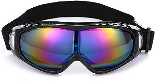 Funnyrunstore Gafas de esquí para Moto al Aire Libre Snowboard Hombres Mujeres Gafas de esquí antivaho Máscara de Nieve Skate Gafas Gafas de esquí Coloridas