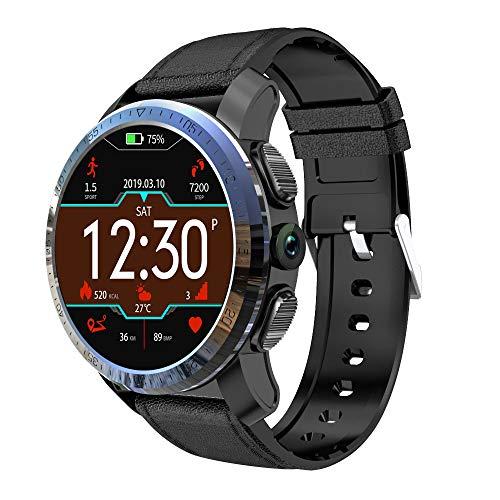 ANZQHUWAI Multifunktionale intelligente Uhr Batterie Dual-Systeme 4G Smart Watch Phone 8.0MP 1,39