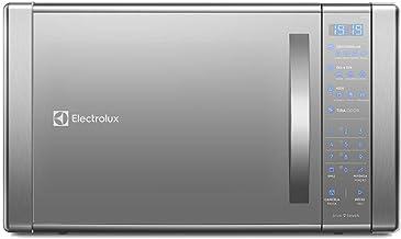 Micro-Ondas Electrolux Prata com Painel Touch On Glass e Função Grill (ME41X) 220V