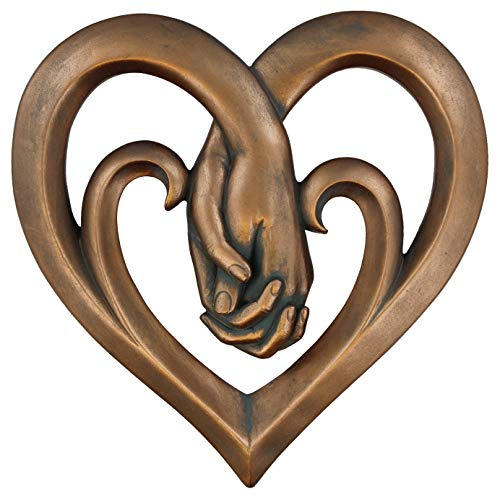Traditional 7 year Wedding Anniversary gift for wife - Copper Bronze Decorative Art Sculpture