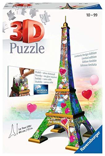 Ravensburger 3D Puzzle 11183 - Eiffelturm Love Edition - 216 Teile