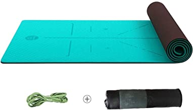WZHYOGAMAT Anti-slip Fitness Yoga Mat Oefening Mat Kan worden uitgebreid Voor Pilates/Stretching/Sit-ups Multi-size Kleur ...