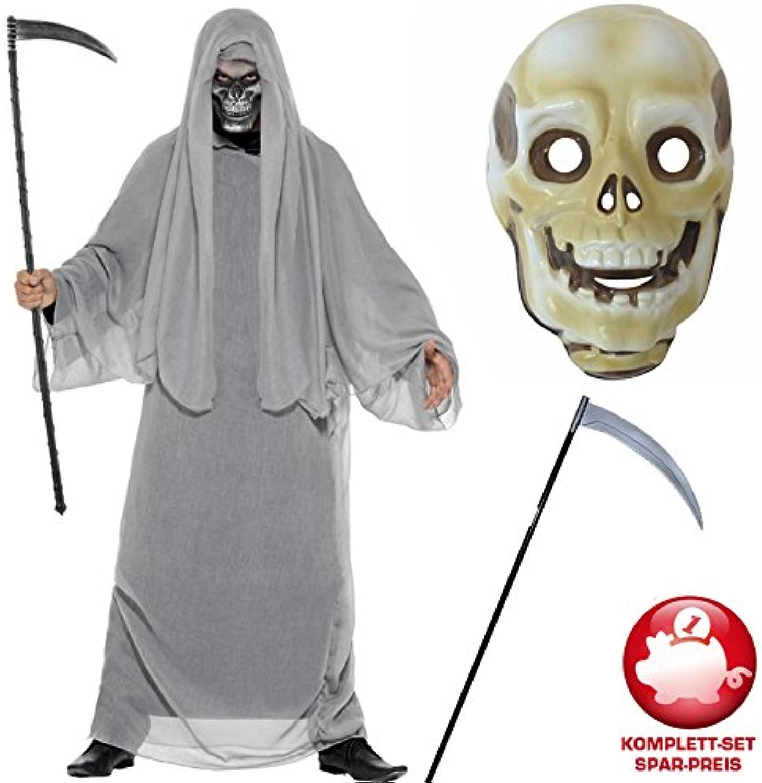PARTY DISCOUNT Kostüm-Komplett-Set Sensenmann Grau, One Größe B01KTREORS Toy Story   | Verschiedene aktuelle Designs