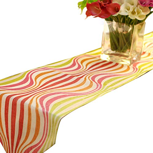 Dingziyue Tischdecke, einfache Farbe, Tischflagge, rechteckig, Tischdekoration, Tischflagge, Tischdecke, als Familiendekoration rose