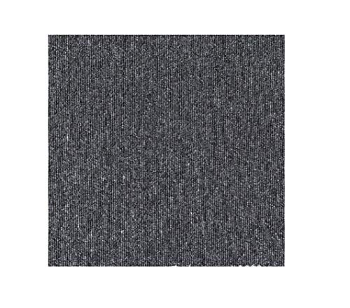 Commercial Carpet Floor Tiles with Adhesive Stickers, 20x20 inch Washable DIY Size Square Carpet Tiles for Residential & Commercial Squares Flooring Use (Bitumen Back- Grey 20PCS)