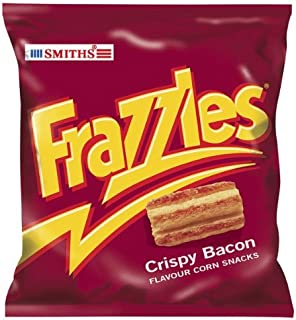 Smith's Smiths Frazzles Crispy Bacon Flavour Corn Snacks - Pack Of 30