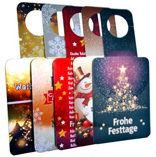 """bottle-cART FLASCHI´S - Set Weihnachten Nr. 2\"""" - Flaschenanhänger - Grußkarte"""