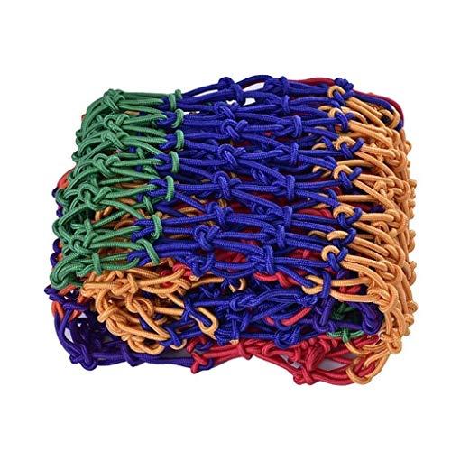 Safety Net Color decorative net, sun protection, work-resistant, children's climbing net, hanging bridge decoration net, building fence net, garden decoration net, children's trampoline, swing toy 2 *