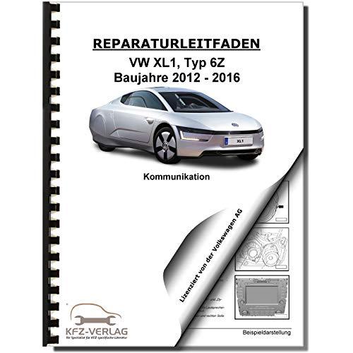 VW XL1 Typ 6Z (12-16) Soundsystem, Infotainment, Kommunikation Reparaturanleitun
