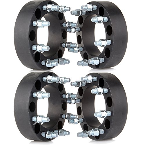 """ECCPP Replacement Part for 8X170 Wheel Spacers 8 Lug 2"""" 50mm thich 8x170mm to 8X170mm 130mm Fits for F-350 Super Duty F-250 Super Duty Ford Excursion Truck with 14x2 Studs"""