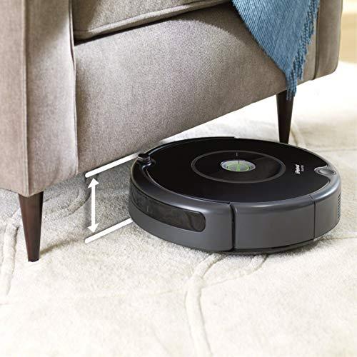 iRobot Roomba 606 ohne Staubbeutel 0.6L, Schwarz - 6