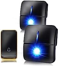 Externe deurbel Waterdichte draadloze deurbel vereist geen batterij Remote Deurbel 36 Ringtones 3 Niveau volume en rinkele...