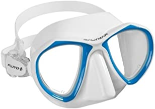SALVIMAR NOAH WHITE low volume mask exellent for freediving and spearfishing, unique white color