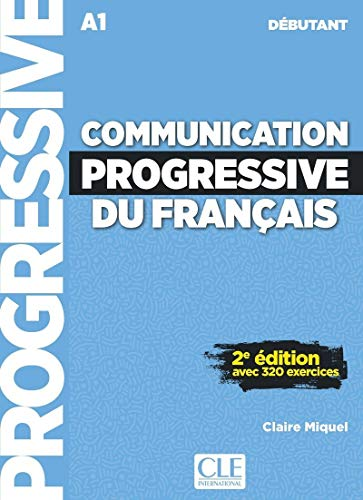 Communication progressive du français - Niveau débutant (A1) - Livre + CD - 2ème édition - Nouvelle couverture