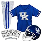 Franklin Sports NCAA Kentucky Wildcats Kids College Football Uniform Set - Youth Uniform Set - Includes Jersey, Helmet, Pants - Youth Medium