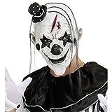 WIDMANN Killer Clown Con Capellie Mini Cappello Maschera Horror 245 Ragazzo, Multicolore, 8003558008483