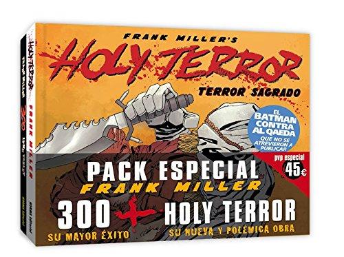 PACK 300 + HOLY TERROR (CÓMIC USA)