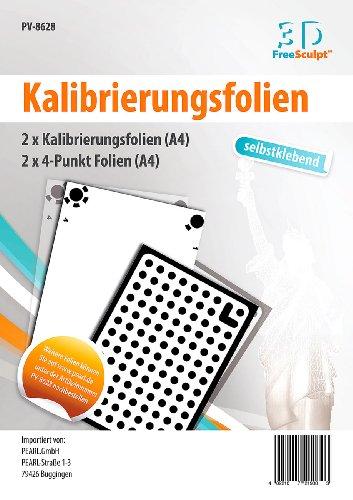 freesculpt stampante 3d: calibrazione fogli/4punto, A4, autoadesivo, per Tris Catch di software (stampante)