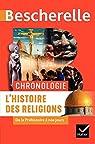 Bescherelle Chronologie de l'histoire des religions: de la Préhistoire à nos jours par Chevallier