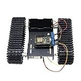 LZP-PP WiFi control Nodemcu aleación de aluminio fuerte del tanque del coche de motor del chasis de orugas Kit for Arduino DIY robot de juguete Ciencias de la Educación