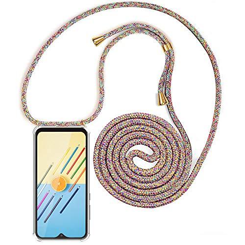 XCYYOO Carcasa de movil con Cuerda para Colgar Samsung Galaxy A70【Versión Popular 2019】 Funda para iPhone/Samsung/Huawei con Correa Colgante para Llevar en el Cuello -Hecho a Mano en Berlin
