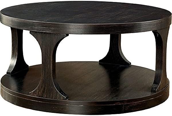 Furniture Of America Arturo Storage Coffee Table In Antique Black