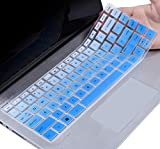 CaseBuy HP Pavilion x360 Keyboard Cover 14 inch Compatible 2020-2018 HP Pavilion 14' Laptop/HP Pavilion x360 14M-BA 14M-CD 14M-DH 14-BA 14-BF 14-cm 14-CF 14-DF 14-DK 14-DS 14-DQ Series, Ombre Blue