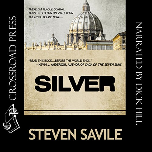 Silver audiobook cover art