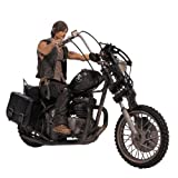 walking dead action figures set - McFarlane Toys The Walking Dead TV Deluxe Box Set (Daryl Dixon with Chopper)