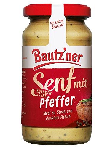 BAUTZ'NER Kosaken Senf, 12er Pack (12 x 200 ml)
