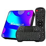 TV Box Android 10.0 4GB 64GB Decodificador Smart TV Box RK3318 USB 3.0 1080P Ultra HD 4K HDR 2.4GHz 5.8GHz BT 4.1 Reproductor Multimedia de...