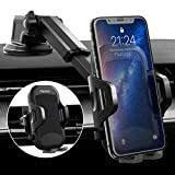 Phone Holder for Car, Panvox Dashboard Windshield Cell Phone Holder for Car Air Vent Universal Car Phone Mount Upgraded Strong Suction Compatible with iPhone 11 Pro X XS Max XR Galaxy Note10 S10