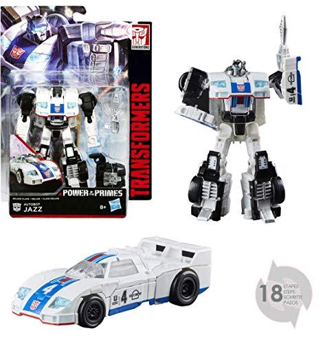Transformers E1125EL2 Generations Power of the Primes Deluxe Class Autobot Jazz Action Figure
