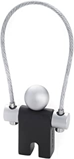 Troika Unisex Jumper Key Ring - Black