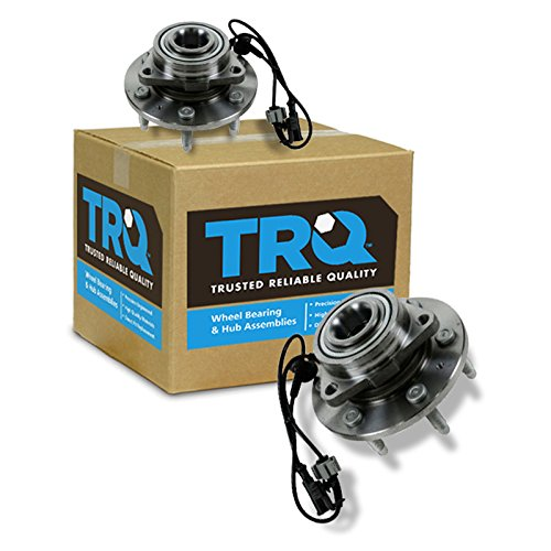 TRQ Front Wheel Hub & Bearing Left & Right...