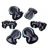 Equipo de Protección Deportes 7/6 pieza de rodillos Conjunto adulto del niño de la rodilla patines de esquí monopatín largo de seguridad Tabla cojín de muñeca del codo de protección Gear Set Protector