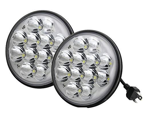2pcs 5.75' Round LED Headlights H5001 PAR46 Flood Work Lights Sealed Beam 36W...