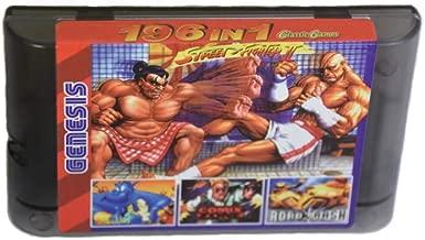 Super games 196 in 1 SG Genesis Mega Drive 16 Bit Multi Cartridge for game console