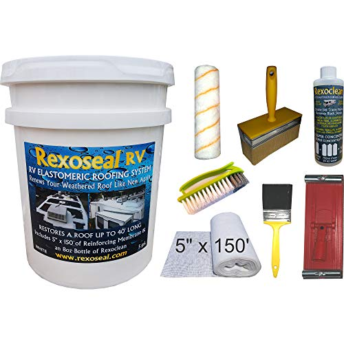 Rexoseal RV Roof Restoration Kit for RV's up to 40'