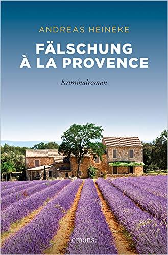 Buchseite und Rezensionen zu 'Fälschung à la Provence' von  Andreas Heineke